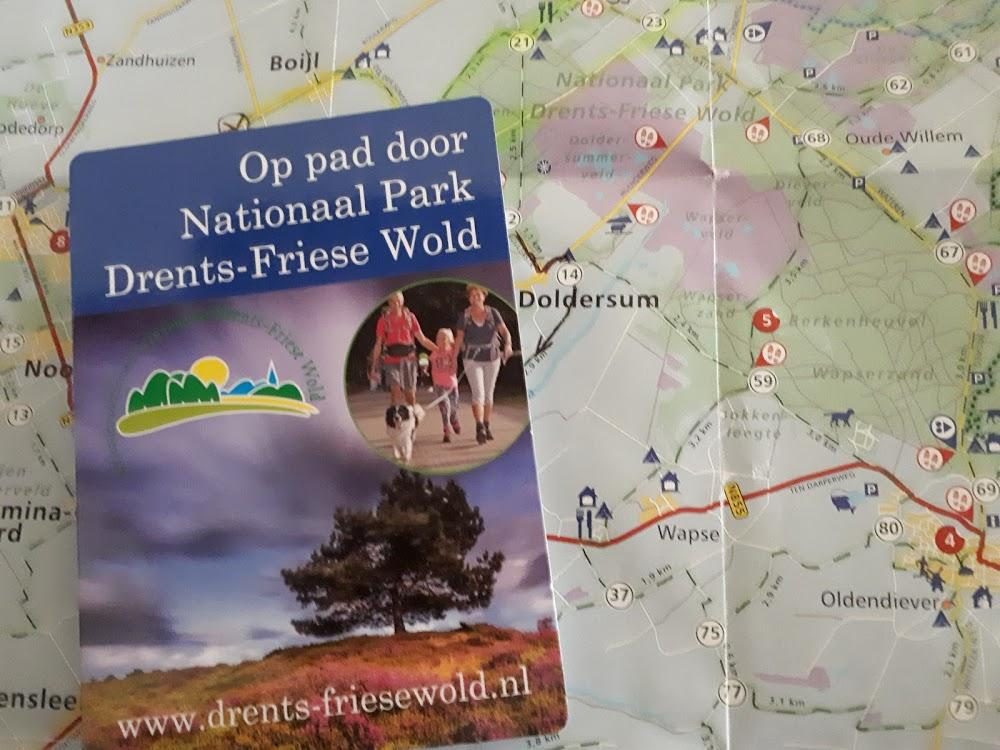 plattegrond drents friese wold